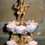 Rosenwaldhof - Ganesha-mit-Kerzen